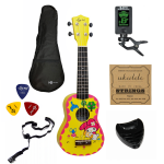 Ukulele sopranowe EverPlay RABBIT MEGA ZESTAW