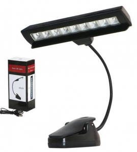 Lampa lampka LED do pulpitu klips PD14