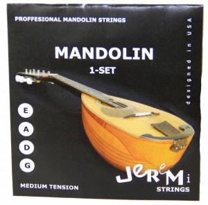 Jeremi Mandolin Set struny do mandoliny medium